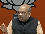 Union Home Minister Amit Shah chairs a high level meeting on cyclone 'VAYU'