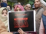 Countrywide protests against CAA continues