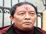 GJM (Binay Tamang) and TMC protest CAB Bill