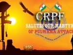 Pulwama Attack: CRPF pay tribute to its jawans