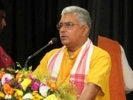 Mamata Banerjee trying to turn West Bengal into West Bangladesh: Dilip Ghosh