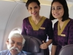 Vistara airline flayed for posting and then deleting image of Kargil war hero GD Bakshi
