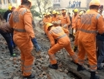 Rescue operation on as building collapses in Gurugram, 8 people trapped