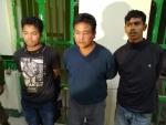 Three rhino poachers with arms-ammu held in Assam's Kaziranga
