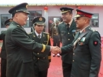 Indian army and PLA jointly celebrate Chinese National Day