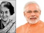 Narendra Modi wishes Indira Gandhi on her birth anniversary