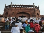 Large number of people protest against CAA after Friday prayers in Delhi's Jama Masjid