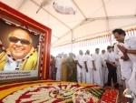 DMK, MK Stalin remember M Karunanidhi on birth anniversary