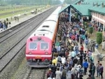 Train service resumes in Kashmir today