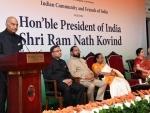President of India unveils statue of Mahatma Gandhi at Villeneuve, Switzerland