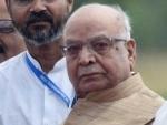 Tandon to take oath as Madhya Pradesh governor on Monday