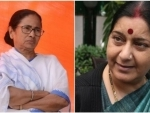 You crossed all limits: Sushma Swaraj slams Mamata Banerjee for her 'slap of democracy' remark against Modi
