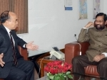 Mizoram CM PU Zoramthanga calls on Ram Vilas Paswan for enhancement of coverage under National Food Security Act