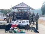 BSF recover huge cache of arms-ammunition in Mizoram