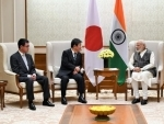 Foreign Minister and Defense Minister of Japan call on Prime Minister Modi