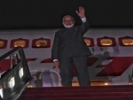 PM Modi departs for Delhi, thanks Putin for his hospitality