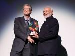 New York: Narendra Modi receives Global Goalkeepers Award