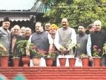 Jammu and Kashmir: NC delegation meets Farooq, Omar