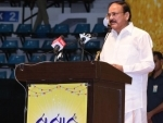 Vice President Naidu asks media to shun tendency to sensationalize and present facts dispassionately