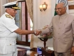 Navy chief Admiral Lanba calls on President