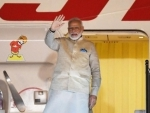 Confident that my visit will present India as global leader, says Modi as he leaves for US