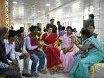 Priyanka Gandhi Vadra holds mega road show in Fatehpur