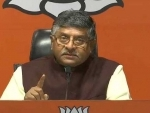 Family and commerce run hand-in-hand for Congress: Ravi Shankar Prasad
