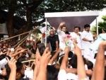 Rahul Gandhi returns after three-day visit to Wayanad