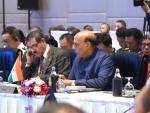 Rajnath Singh urges international community to eliminate scourge of terrorism