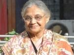 Sheila Dikshit made immense contribution in development of Delhi: LK Advani