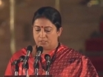 After scripting massive victory from Amethi, Smriti Irani is now the youngest minister in Narendra Modi government
