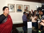 Narendra Modi's youngest minister Smriti Irani takes charge of Women and Child Development Ministry