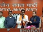 TMC Lok Sabha MP Saumitra Khan joins BJP