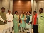 Mamata's former right hand man and ex Kolkata Mayor Sovan Chatterjee joins BJP with friend Baisakhi