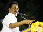 Chennai: MK Stalin expresses support to Narayansamy's protest