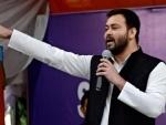 'Son of lion' Tejashwi not scared by BJP 'bravado'