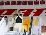 After mega 'Howdy,Modi!' event in Houston, PM arrives in New York for UNGA Summit