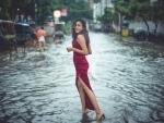 Mermaid in disaster: Model Aditi Singh poses in Patna flood, pictures trend on social media