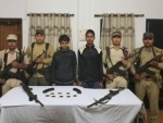 Two ULFA-I militants lay down arms in Assam's Tinsukia district