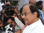 Chidambaram meets his son Karti and Congress leaders in Tihar jail