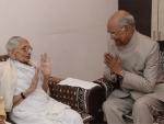 Ram Nath Kovind meets PM Narendra Modi's mother