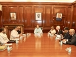 Union Home Minister Amit Shah and Singapore Home Minister meeting held today