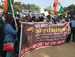 Students gather to protest against CAA, NRC in Kolkata