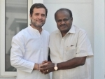 We are confident, says Kumaraswamy while Congress-JDS government on verge of losing power