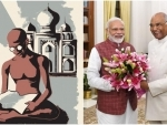 India observes Gandhi Jayanti today, PM, President greet