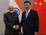 PM Modi meets Chinese president Xi Jinping on the margins of 11th BRICS Summit
