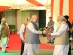 PM Modi wishes Home Minister Amit Shah who turns 55 today