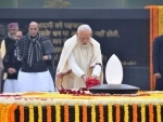 Narendra Modi pays tribute to former PM Atal Bihari Vajpayee on 95th birth anniversary