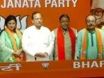 Former Kolkata Mayor Sovan Chatterjee, close aide Baishakhi Banerjee join BJP