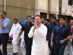 Rahul Gandhi in Surat for defamation case filed by 'political opponents'